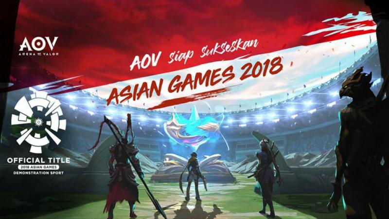 Roster Lengkap Tim Peserta AOV di AG 2018, Mampukah Indonesia Bersaing?