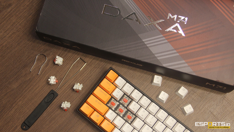 [Review] DAXA M71 Pro, Mechanical Keyboard Minimalis yang Powerful!