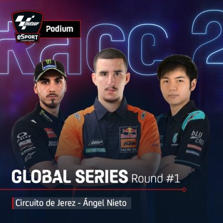 Racer Indonesia Cicip Podium di MotoGP Esports Championship 2020