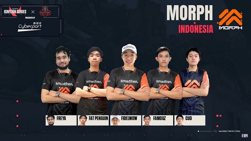 Morph Cud: Kami Antisipasi Tim Korea di Valorant Royal SEA Cup