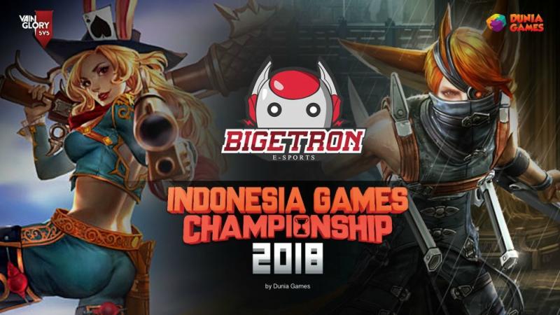 Caplok Talenta Daerah, Bigetron Siap Berlaga di Vainglory IGC 2018