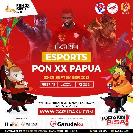 Ingin Ikut Ekshibisi Esports PON XX Papua 2021, Ini Cara Daftarnya!