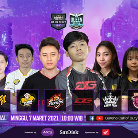 6 Tim Siap Berlaga Di Grand Final CODM Major & Queen Series!