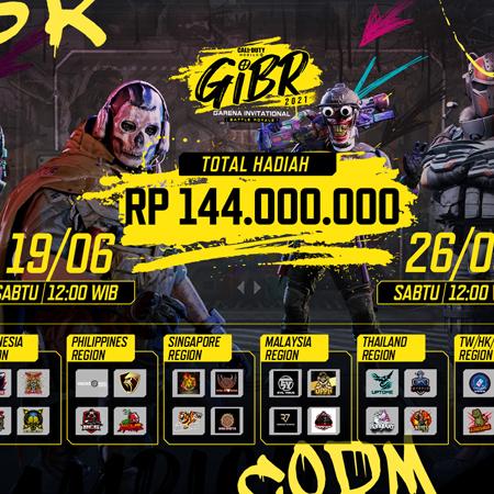 Dukung Tim Indonesia di Garena Invitational Battle Royale 2021