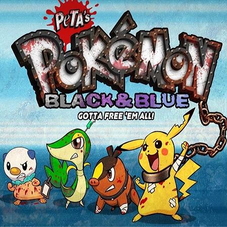 Parodi Pokemon PETA Adu Trainer dan Tangkapannya!