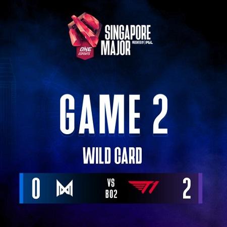 T1 & Nigma Gagal Lolos Wild Card Singapore Major