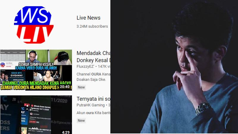 Akun YouTube Oura Hilang Akibat Hack, Ini Cara Recovery-nya!