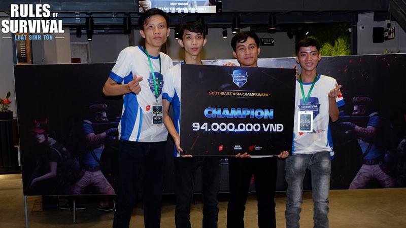AllStar Vietnam Menangkan ROS SEA Championship Season 1
