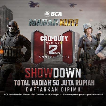 BCA Mabar Kuy Meriahkan Ulang Tahun Ke-2 Call of Duty Mobile