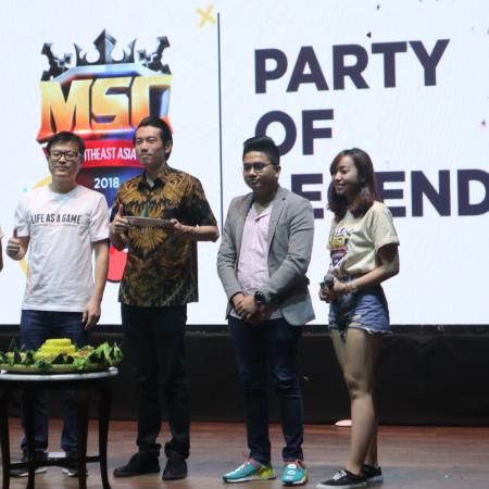 MSC 2018 - Kompetisi Mobile Legends Termegah di Asia Tenggara
