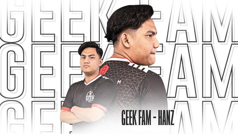 Player Baru Geek Fam Idolakan Jungler ONIC, Ini Pesan Untuk Sanz