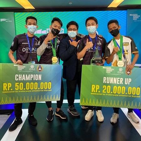 Kalahkan Hussain di Final, Chanks Boyong Trophy ePiala Indonesia 2021