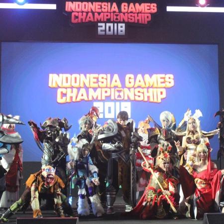Cosplay, 'Magnet' Pengunjung di Indonesia Games Championship 2018