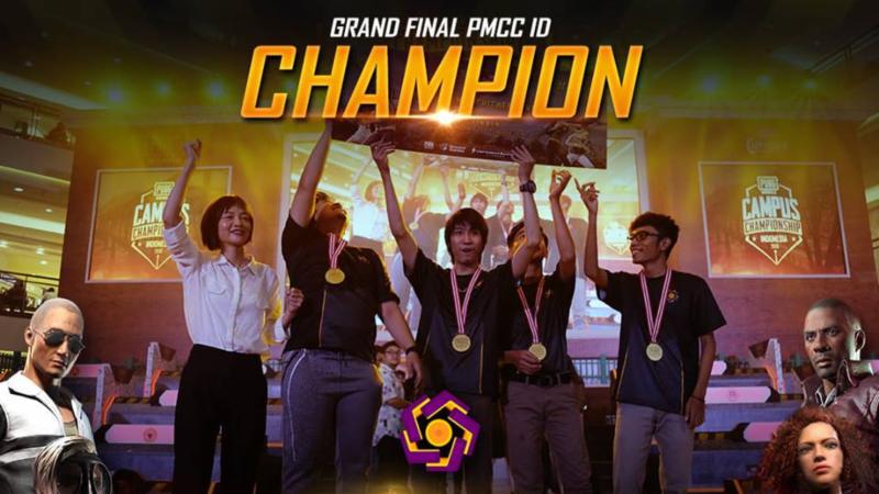 Tiga Chicken Dinner Bawa Amikom Yogyakarta Juara PMCC 2019