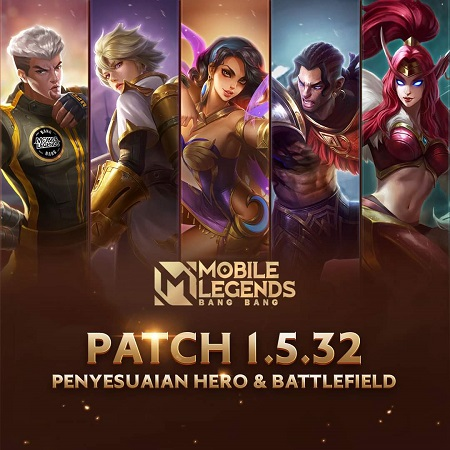 Patch 1.5.32 Mobile Legends, Akhir Dominasi Uranus - Esmeralda
