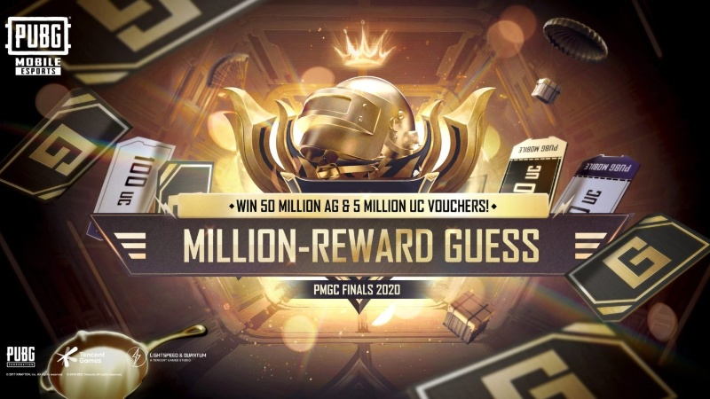 Tencent Hadirkan Million-Reward Guess, Tebak Juara PMGC 2020!