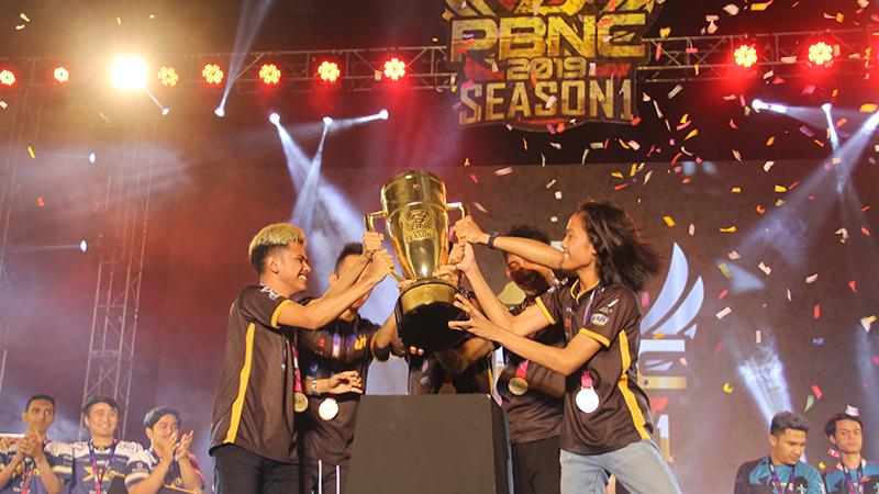 Kalahkan THE PRIME, RRQ.TCN Jadi Juara PBNC Season 1 2019!