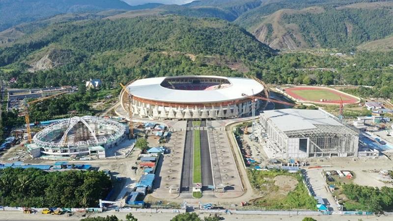 Mengintip Venue Esports di PON XX Papua, Hockey Indoor Doyo Baru