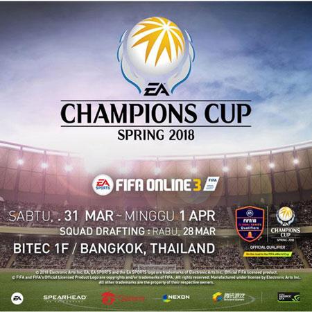 Indonesia Kirimkan BOOM.ID ke EA Champions Cup Spring 2018