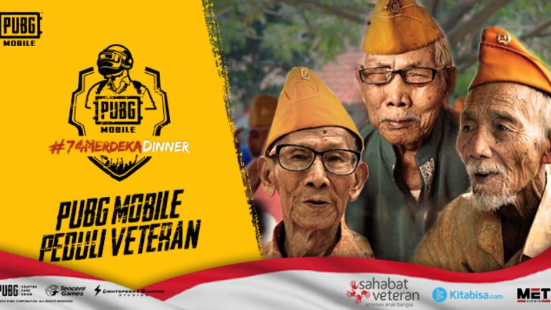 Peringati HUT RI ke-74, PUBGM Galang Dana bagi Veteran