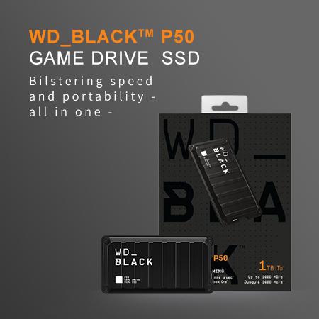 [Review] WD_Black P50 Game Drive, SSD Super Kencang untuk Gamer!
