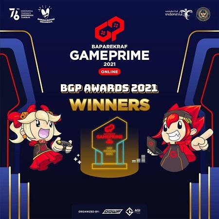 Xepher dan Deretan Peraih Gelar Game Prime Awards 2021!