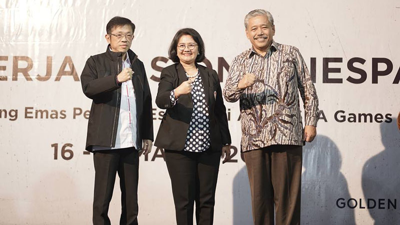 Protes 'Warnai' Terpilihnya Kembali Eddy Lim Sebagai Ketua IESPA