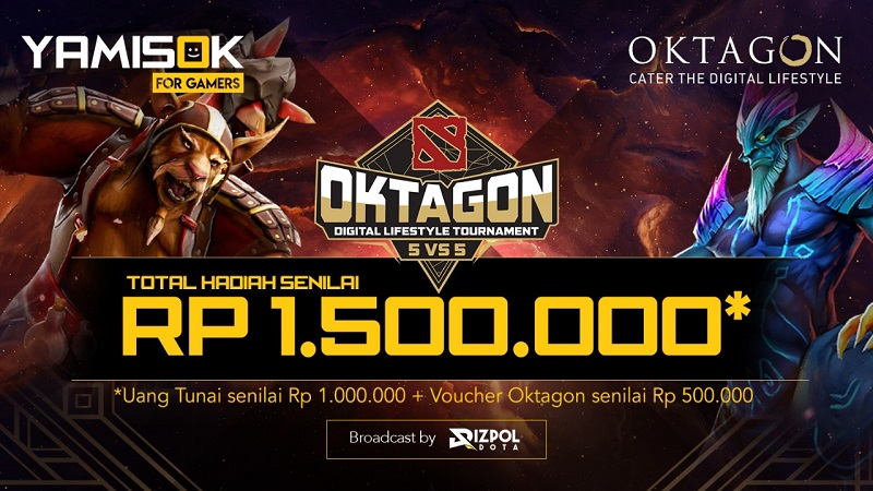 Sensasi Ikut Oktagon Lifestyle Tournament Bareng Rizpol!