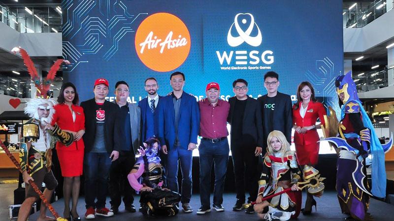 Alisports Resmikan Pelaksanaan WESG 2018 di Kuala Lumpur