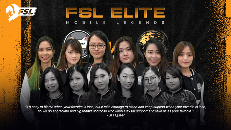 Kalah di Final, SFI Queen Runner Up FSL Elite 2019!