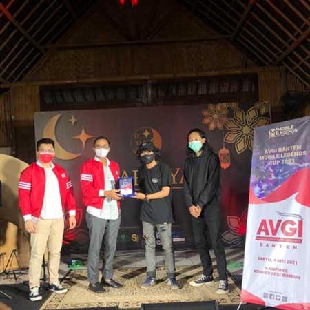 Saring Atlet Muda, AVGI Banten Suskes Gelar Turnamen Mobile Legend Cup