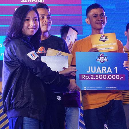 Peraih 'Golden Ticket' dari First Warriors di Medan, Gapai Mimpi ke Jakarta!
