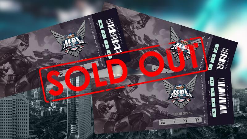 "Paling Dinanti, Tiket ""el clasico"" RRQ vs EVOS Sold Out!"