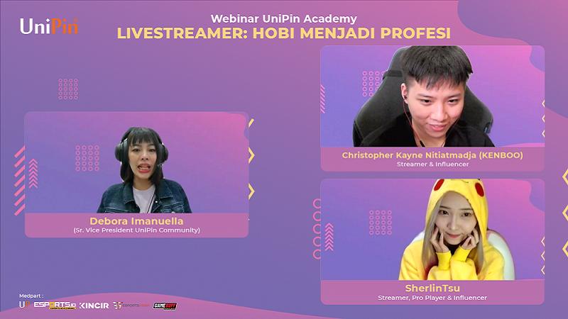 Kenboo dan SherlinTsu Bagi Pengalaman Sebagai Live Streamer