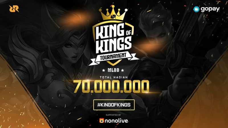 RRQ Gelar Kompetisi MLBB Bertajuk King of Kings Tournament!