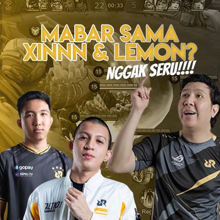 Main Bareng XINNN & Lemon, Windah Basudara Malah Kecewa