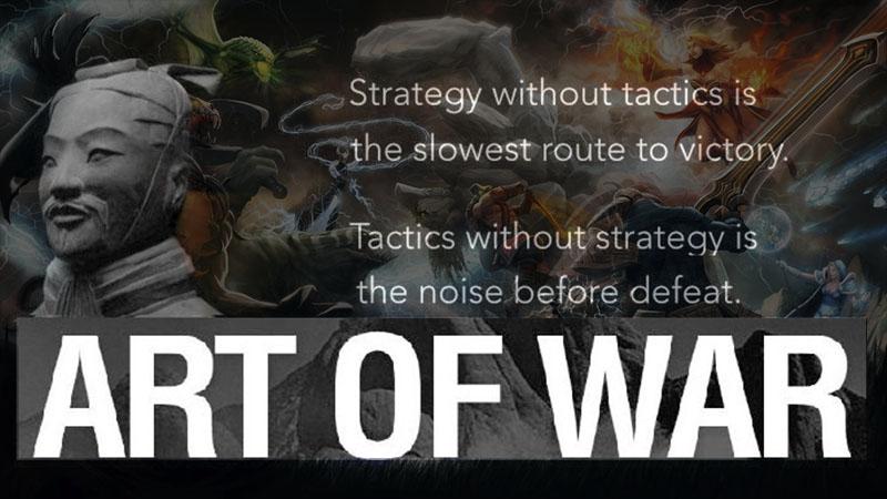 Strategi DOTA 2 ala Jenderal Perang Sun Tzu Part 1