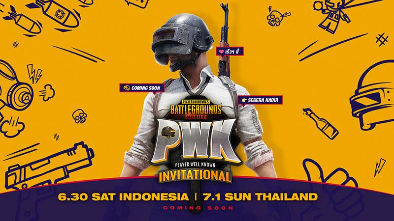 Tanding PUBG Mobile dan Adu Gengsi Influencer di PWK Invitational 2018!