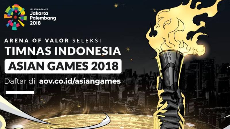 Mau Jadi Bagian Timnas AOV Indonesia di AG 2018? Yuk Simak Caranya