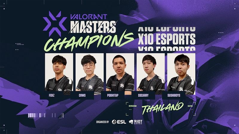 Final Sengit, X10 Kampiun Valorant Masters SEA Stage 1!