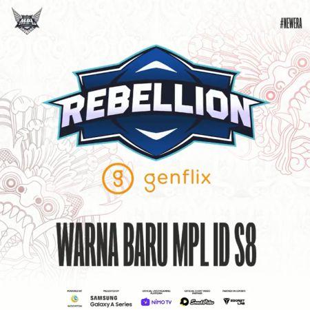 Penantang Baru! Rebellion Genflix Kenalkan Roster MPL