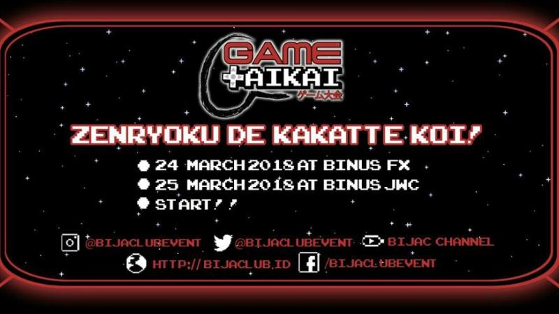 BIJAC Game Takai, Kompetisi eSports Padu Budaya Jepang