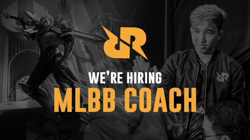 RRQ Buka Lowongan Kerja Cari Pelatih MLBB Baru, Tertarik?