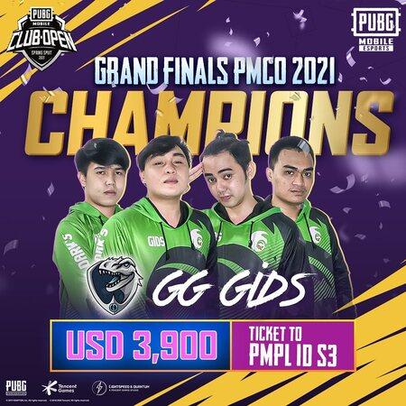 GG GIDS Juarai PMCO Spring Split 2021, Tiket ke PMPL S3