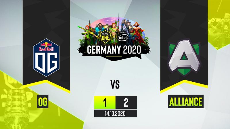 Alliance Jadi Tim Pertama Lolos ke Playoffs ESL One Germany 2020
