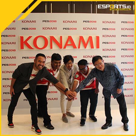 Demi Kemajuan PES dan eSports, KONAMI Dukung Penuh Asian Games 2018!