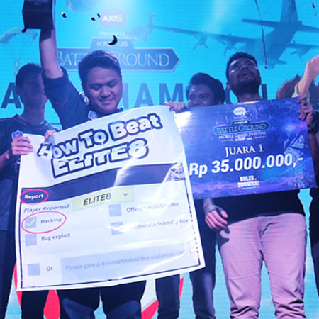 ELITE8 Juarai Rules of Survival di KASKUS Battleground 2