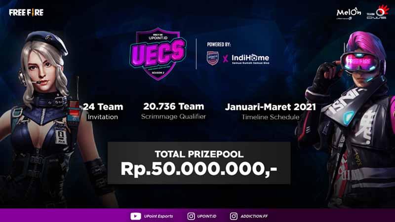 The Grand Finale UECS Season 2 Masuki Babak Akhir