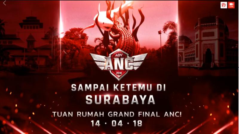 Rebutan Slot Menuju Grand Final ANC, Tuntas di Surabaya!
