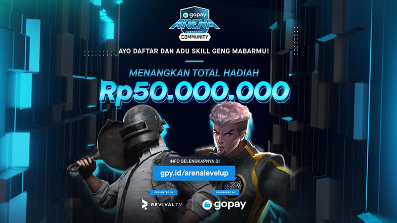 Adu Skill di Event GoPay Arena Level Up Community, Berhadiah 50 Juta!